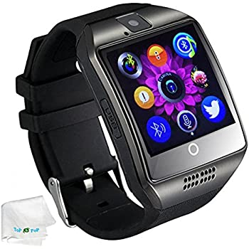 Bluetooth Smart Watch with Camera SIM Card Slot Pedometer Fitness Tracker Wristwatch Men Women Boys Smartwatch Compatible with Android Smart Phones ...