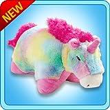 Rainbow Unicorn Pillow Pet Size: Small
