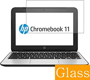 """Synvy Tempered Glass Screen Protector for HP Chromebook 11 G4 11.6"""" Visible Area Protective Screen Film Protectors 9H Anti-Scratch Bubble Free"""