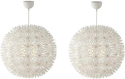 Ikea Maskros – Lámpara de techo lámpara de papel 55 cm diámetro en ...