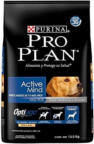 Pro Plan Comida para Perros Adultos Active Mind, Razas Medianas y Grandes, 13 kg 2