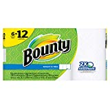 #10: Bounty Select-a-Size Paper Towels, White, Double Roll, 6 Count