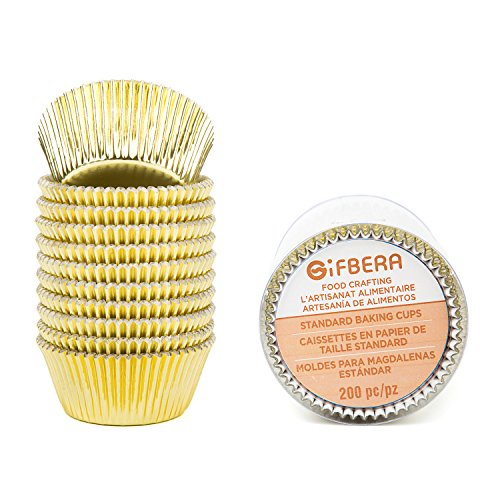Gifbera Standard Cupcake Liners 200 Count product image