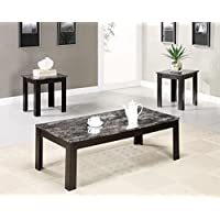 Clover & Moss OT9009 Grant Occasional Coffee Table Collection, Black