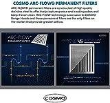 Cosmo 668ICS750 30 in. Island Mount Range Hood with