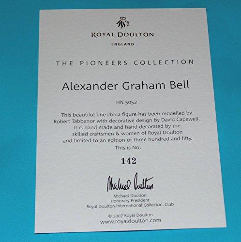Royal Doulton Prestige Figura Alexander Graham Bell HN5052 Caja: Amazon.es: Hogar