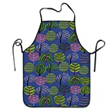 Lovely Broadleaf Trees Chef Aprons Chef Apron For Women Men Girl Kids Gifts