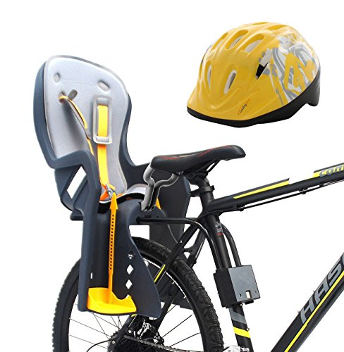 - CyclingDeal Bike Baby Rear Seat with Handrail and Helmet