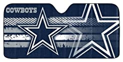 Dallas Cowboys Auto Sun Shade - 59''x27'...