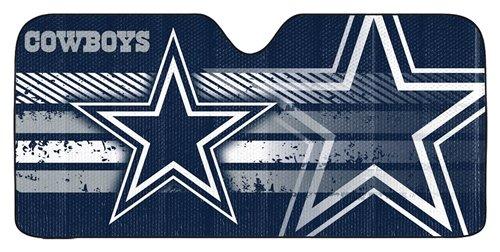 Dallas Cowboys Auto Sun Shade - 59''x27''