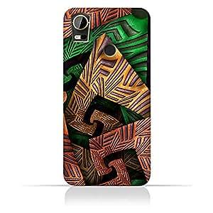 AMC Design HTC Desire 10 Pro Fractal Art 04 Design Case - Multi Color