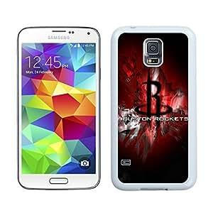 Samsung Galaxy S5 Case,2015 Hot New Fashion Stylish houston rockets 1 White Case Cover for Samsung Galaxy S5 i9600