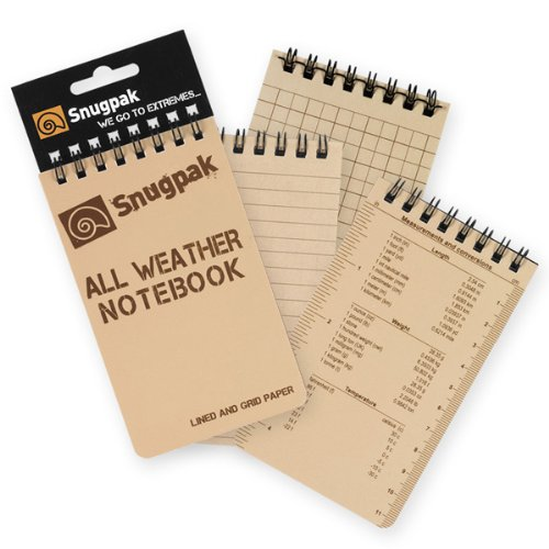 Expert choice for snugpak all weather notebook