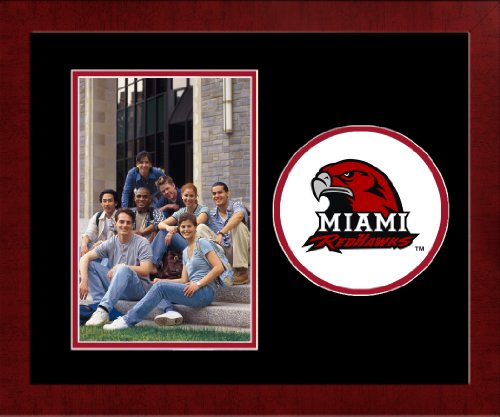 (Campus Images NCAA Miami (Ohio) Redhawks University Spirit Photo Frame (Vertical))
