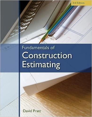 fundamentals of construction estimating david pratt 9781439059647