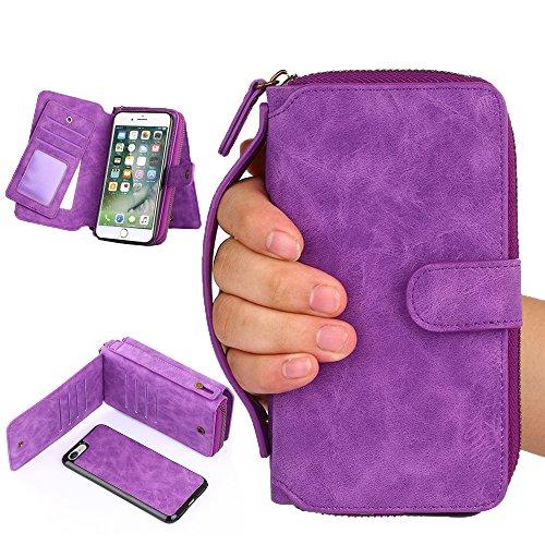 iphone-7-case-bluera-11-card-holder-zipper-cash-storagemirror-premium-pu-leather-wallet-case-cover-w