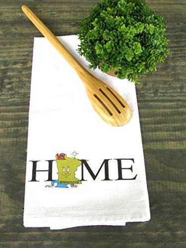 State Of Minnesota Kitchen Towel