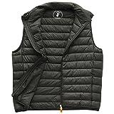 Save The Duck Men's Vest (S8241M-GIGA5) Black XXL