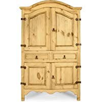Corner Sierra Armoire in an Old World Look