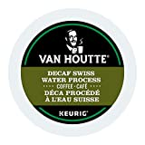 Van Houtte Swiss Water process Decaf Single Serve Keurig Certified K-Cup pods for Keurig brewers, 24 Count
