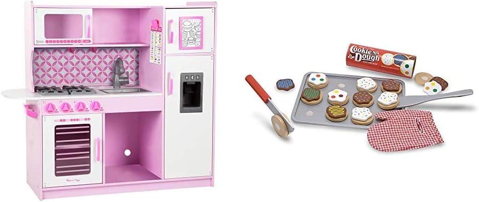 Melissa & Doug Chef's Kitchen – Cupcake & Slice and Bake Cookie Set