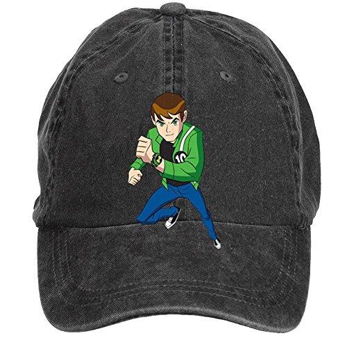 Tommery Unisex Ben 10 Alien Force Hip Hop Baseball Caps