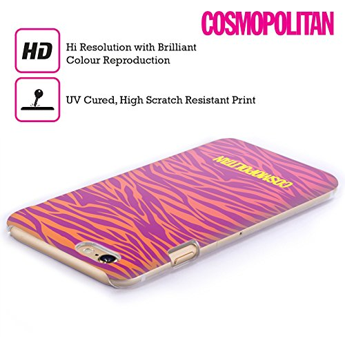 Official Cosmopolitan Ombre Zebra Animal Skin Patterns Hard Back Case for Apple iPhone 6 / 6s