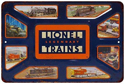 Legendary Lionel Trains Vintage Look Reproduction 8x12 Metal Sign 8121010