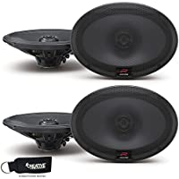 Alpine R-S69 Bundle - Two pairs of Alpine R-S69 6x9 Inch Coaxial 2-Way Speakers