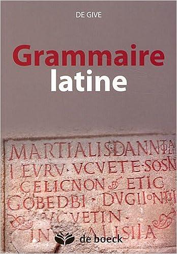 Read Online Grammaire latine epub, pdf