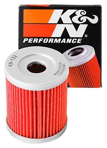 KN-132 K&N Performance Oil Filter; POWERSPORTS CARTRIDGE (Powersports Oil Filters):