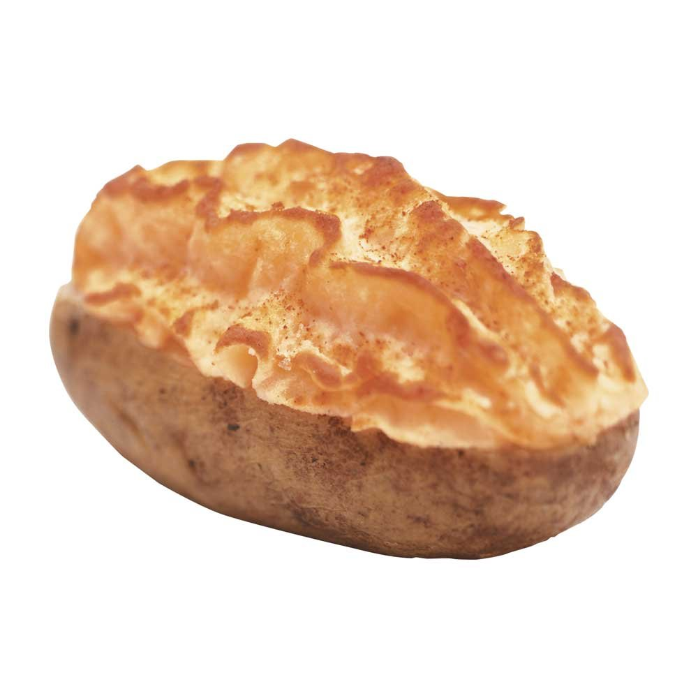 Simplot Skincredibles Specialty Cheddar Twice Baked Potato, 5 Ounce - 48 per case.