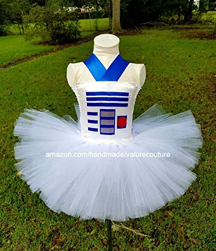 Star Wars R2D2 Inspired Tutu Dress Costume Pageant