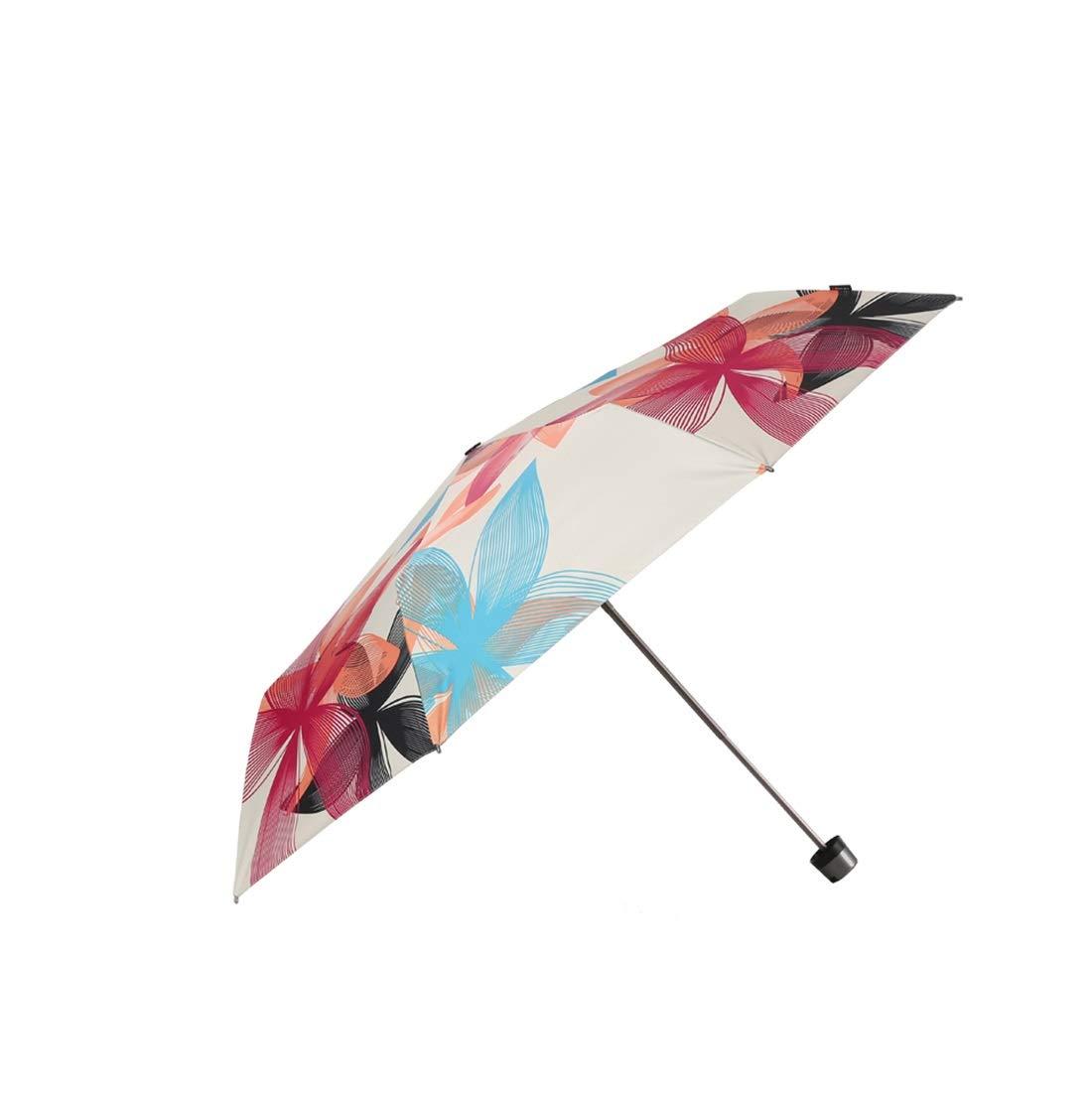 Hexiansheng Windproof Travel Umbrella Compact Mini Umbrella Windproof Folding Umbrella Suitable for Ladies, Men, Children 25cm