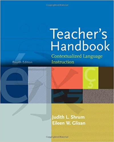 Amazon Teachers Handbook Contextualized Language Instruction