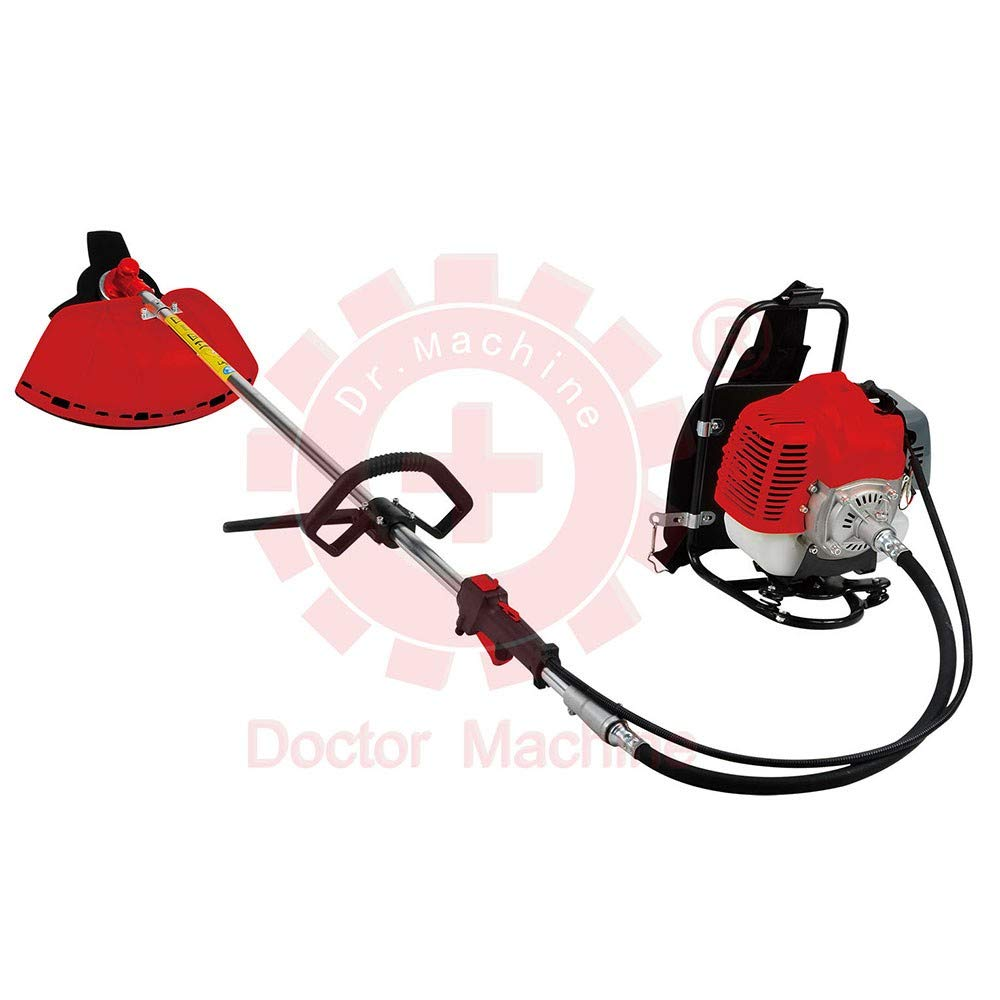 Doctor Machine Dm0005 Desbrozadora a Mochila 43 CC - 1.47 kW - 2.3 ...