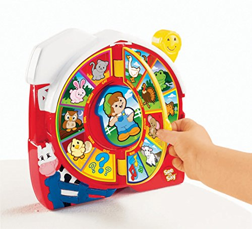 51x9X5NQAYL - Fisher-Price See 'n Say The Farmer Says [Amazon Exclusive]