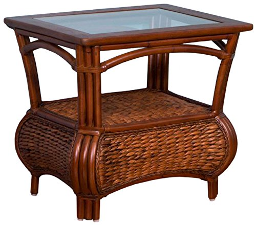 Alexander-Sheridan-HAV021-SI-Havana-End-Table-in-Sienna-Finish-with-glass