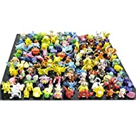 RioRand Pokemon Action Figures, 144-Piece and 1.5-2.5 (cm)