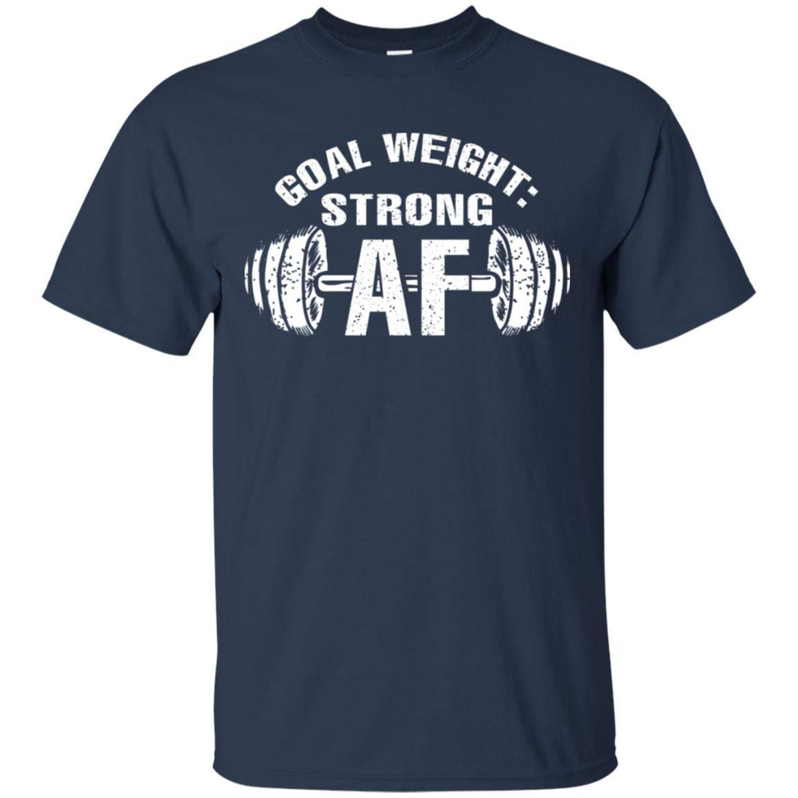 TeeAbelia Good Weight Strong AF Fitness Shirt