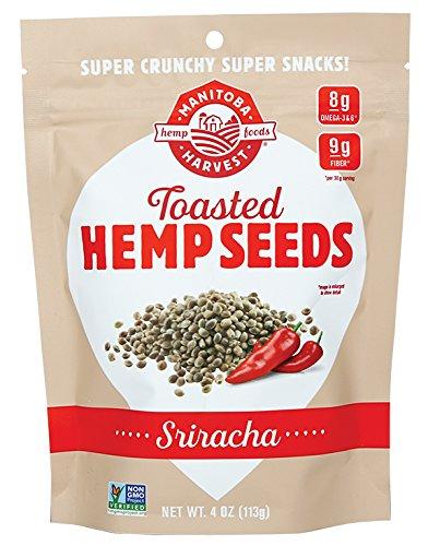 Manitoba Harvest Toasted Hemp Seeds, Sriracha, 113g