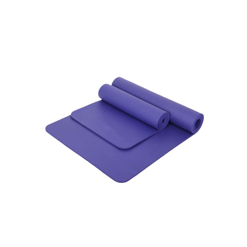 MEIDI Home Weibliche Yogamatte Fitnessmatte Lang Verbreiterung 80 cm Anfänger Matte Yogamatte