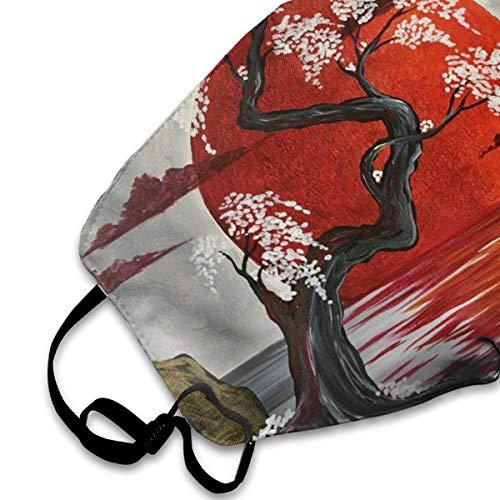 Japanese Anti Dust Half Face Mouth Mask, Unisex Cotton Warm Fashion Adjustable Washable Safety Mask