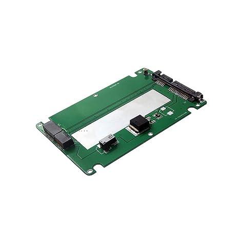 Grborn Nueva Tarjeta convertidora adaptadora de SSD a SATA3.0 de ...