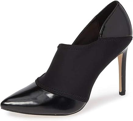 YDN Women Classic High Heels Slip on Platform Pumps Peep Toe Dress Stiletto Shoes