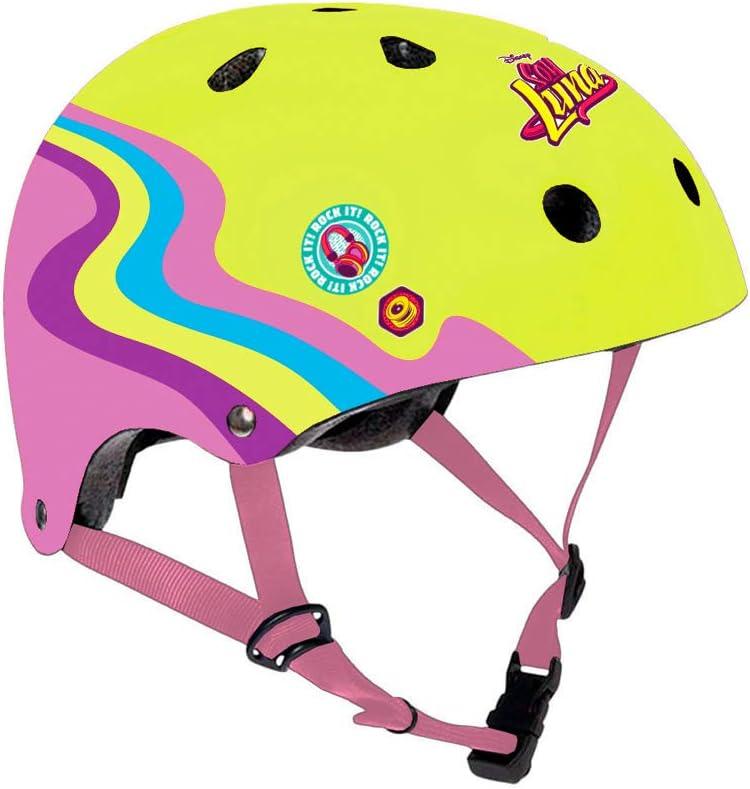 Disney Soy Luna Casque de Cyclisme pour Fille