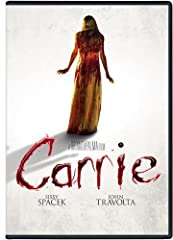 "Based on the best-selling Stephen King novel, Carrie ""catches the mind, shakes it and refuses to let it go"" (Time)! Starring Sissy Spacek and Piper Laurie (in OscarÂ(r)-nominated* performances), John Travolta and Amy Irving, this ultimate rev..."