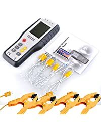 Want 4-Channel K-Type Digital Thermocouple Thermometers Sensor Probe+4*pipe clamp reviews