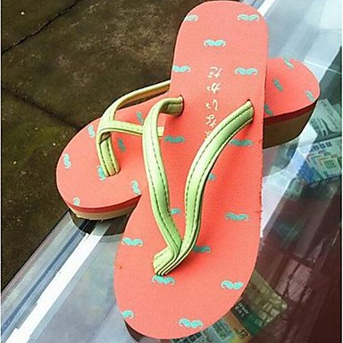 5 Personality US8 RTRY Slippers Women'S Creative 2017 CN40 Shape Printed Beach UK6 Handmade EU39 3D 5 vCqwXPC