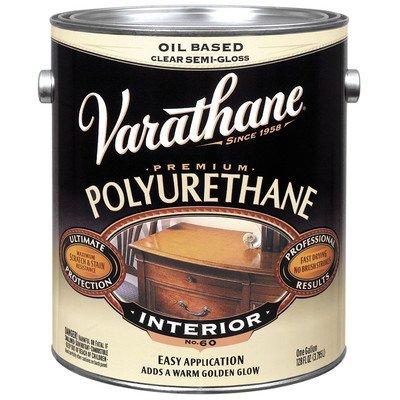 Varathane Polyurethane Semi Gloss Clear 1 Gl Low Voc - Low Voc Polyurethane
